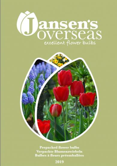 Voorverpakte bloembollen catalogus